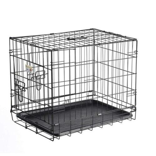 Pet Trex 2190 24 Inch Dog Folding Kennel for Cats