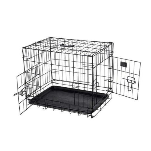2190 abs 24 inch dog crate folding
