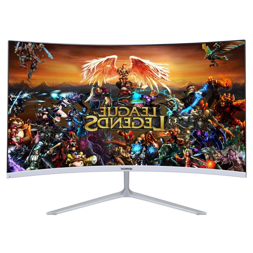 Wearson 23.8 Competition Curved Widescreen LCD Gaming Monitor input 2ms Response WS238H