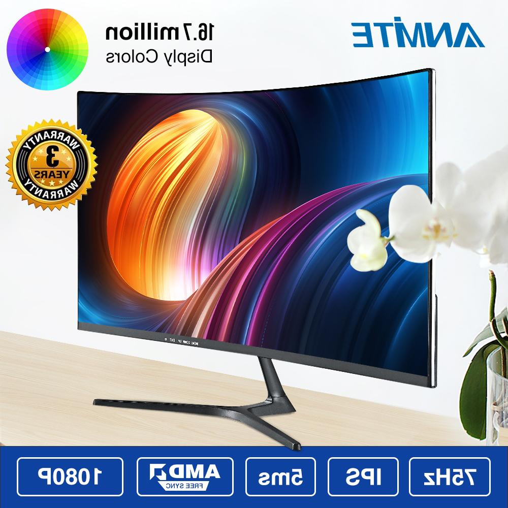 Anmite 23.8 inch Hdmi HDR Curved TFT LCD <font><b>Monitor</b></font> Competition Screen