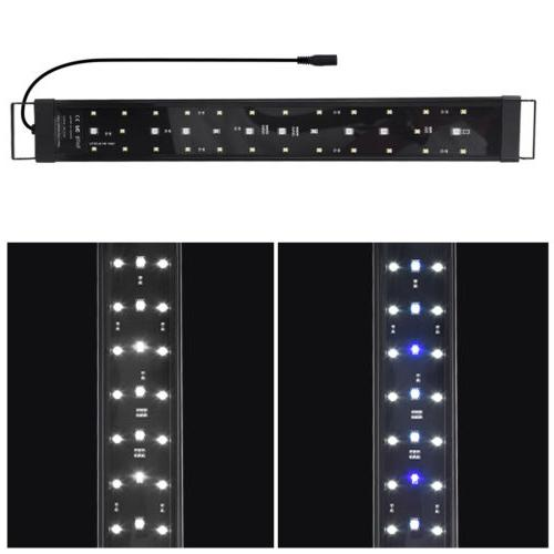 "24"" 48"" LED Aquarium Light Spec Aluminum Tank"