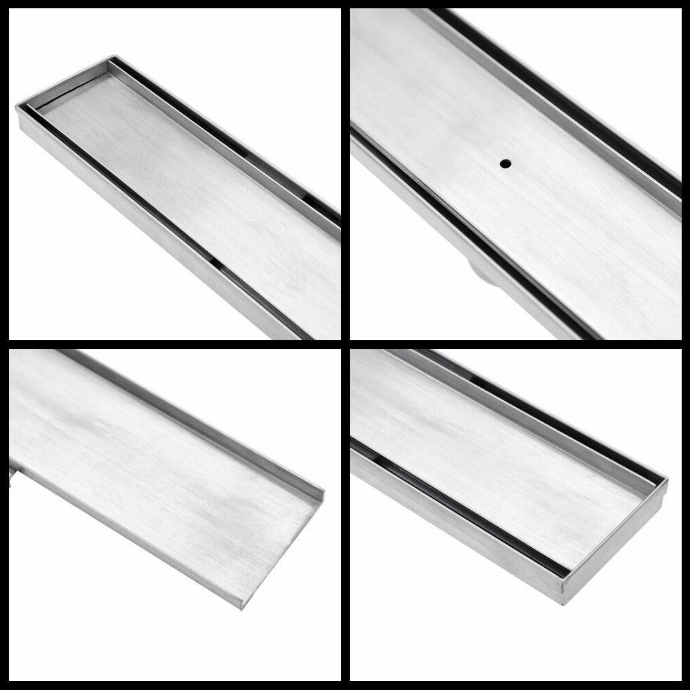 24 Tile Linear Stainless