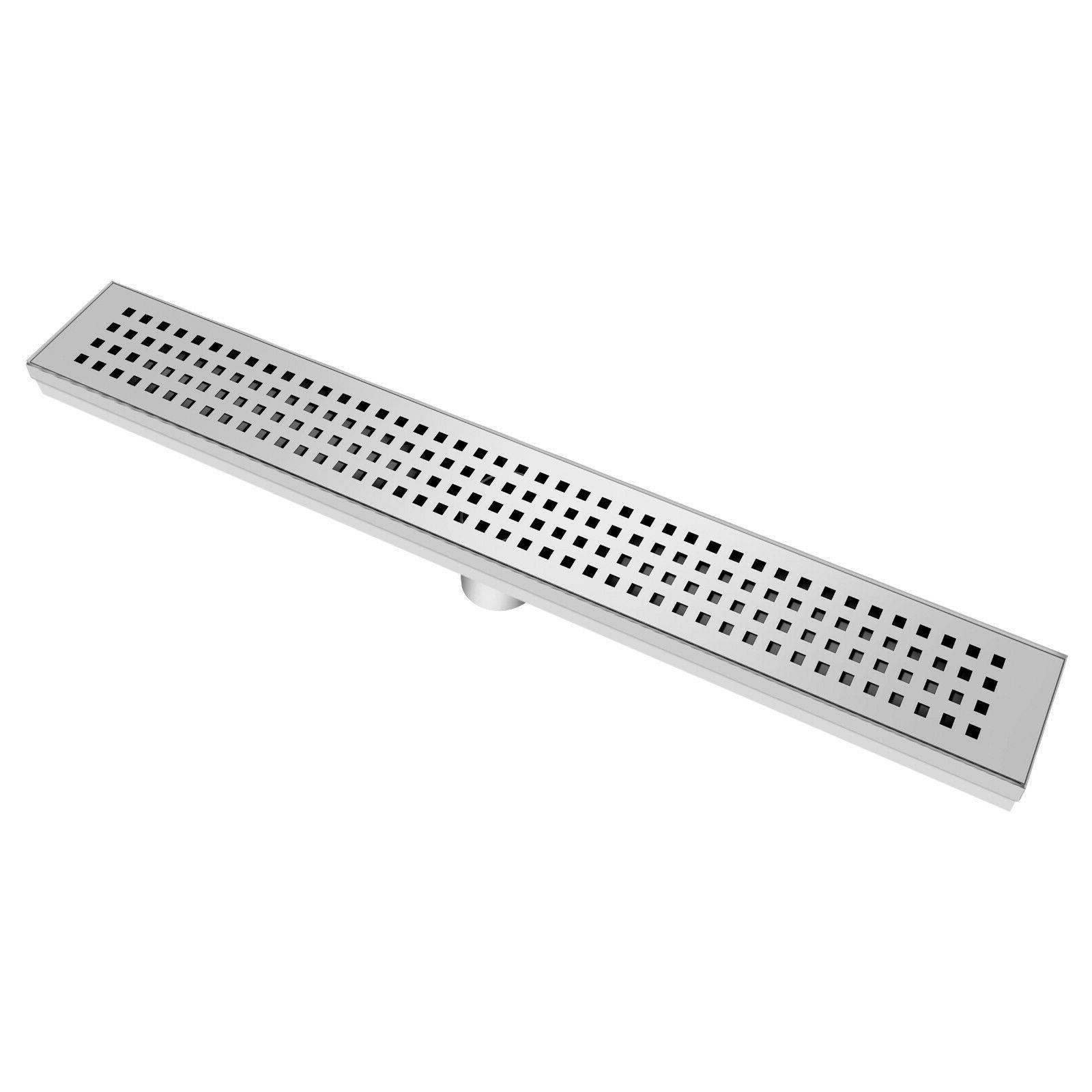 24 36 inch bathroom linear shower drain