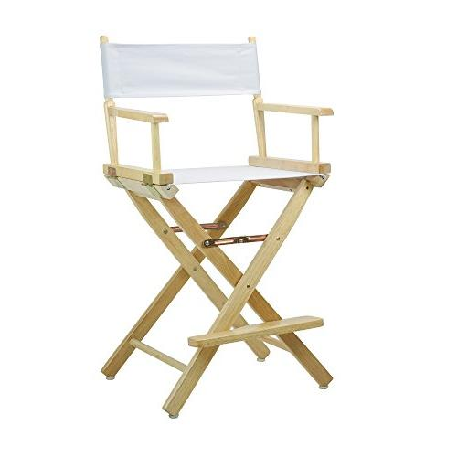 24 director s chair natural frame