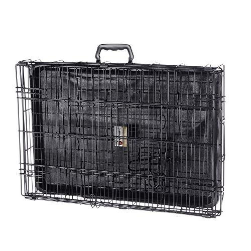 Pet 24 Folding Pet Crate Wire Cage for Dogs, or Rabbits