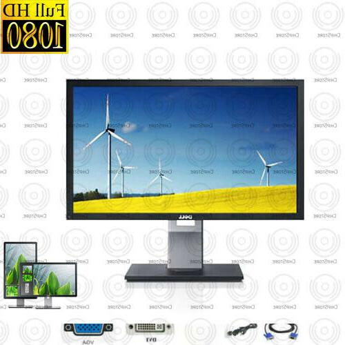 Dell inch x 1080 Monitor w/ stand cables vary