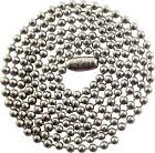 24 INCH - 2.4mm - STAINLESS STEEL BALL CHAIN NECKLACE