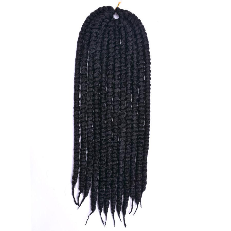 24 inch 6 Havana Braids Synthetic Mambo Braids