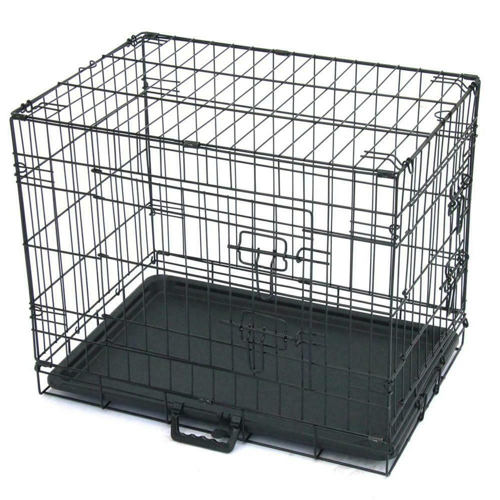 24 inch Practical Metal Playpen Wire Pet Kennel Cat Dog Fold