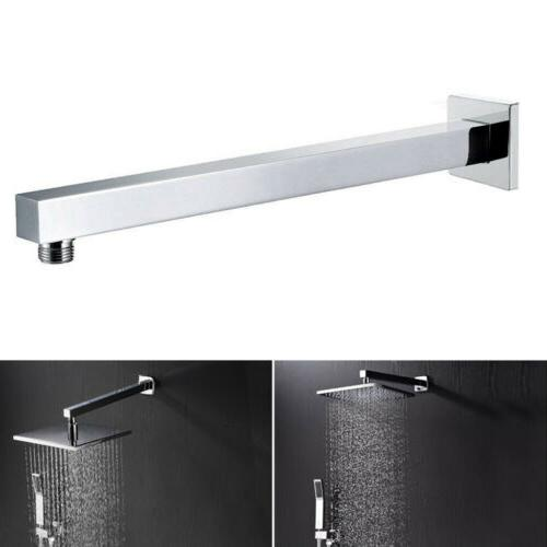 24-inch Stainless Steel Rainfall Shower Extension Arm Wall