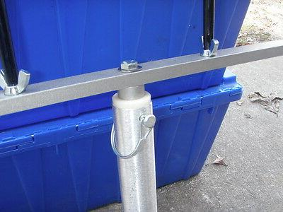 24 inch t bar with 4 holders