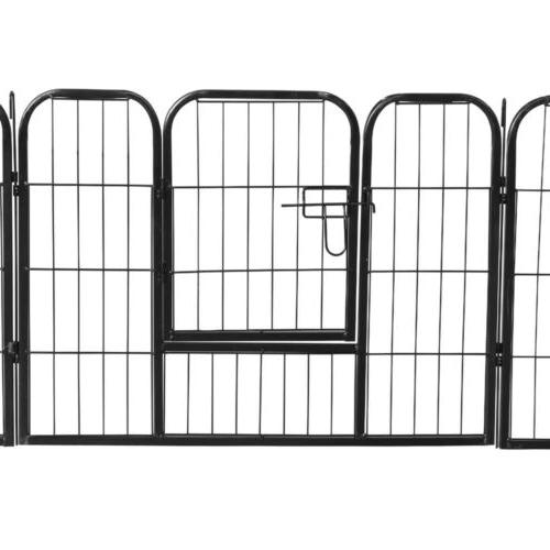 24 Tall Dog Playpen Large Crate Pet Play Pen Cage
