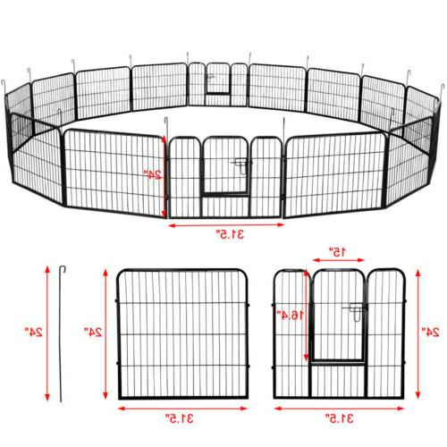 24 Playpen Large Crate Pet Exercise Cage