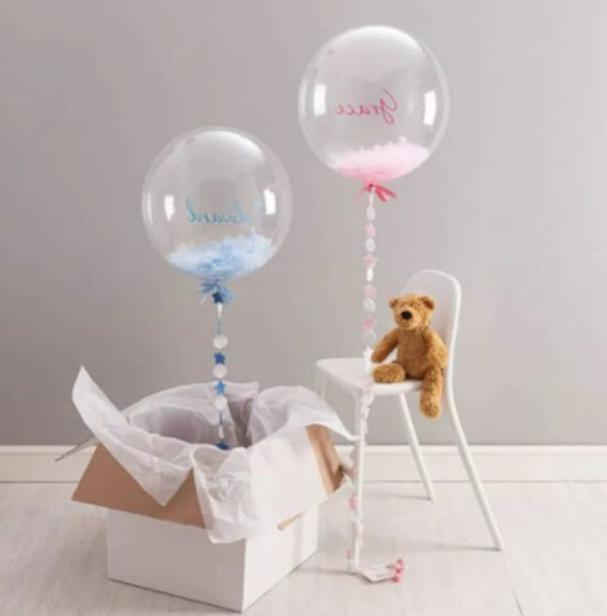 24 inch Transparent Clear Balloons $10