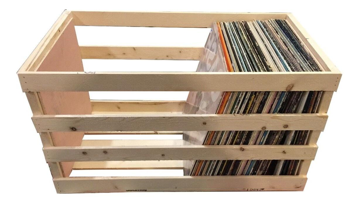 24 Vinyl Storage Crate Record and