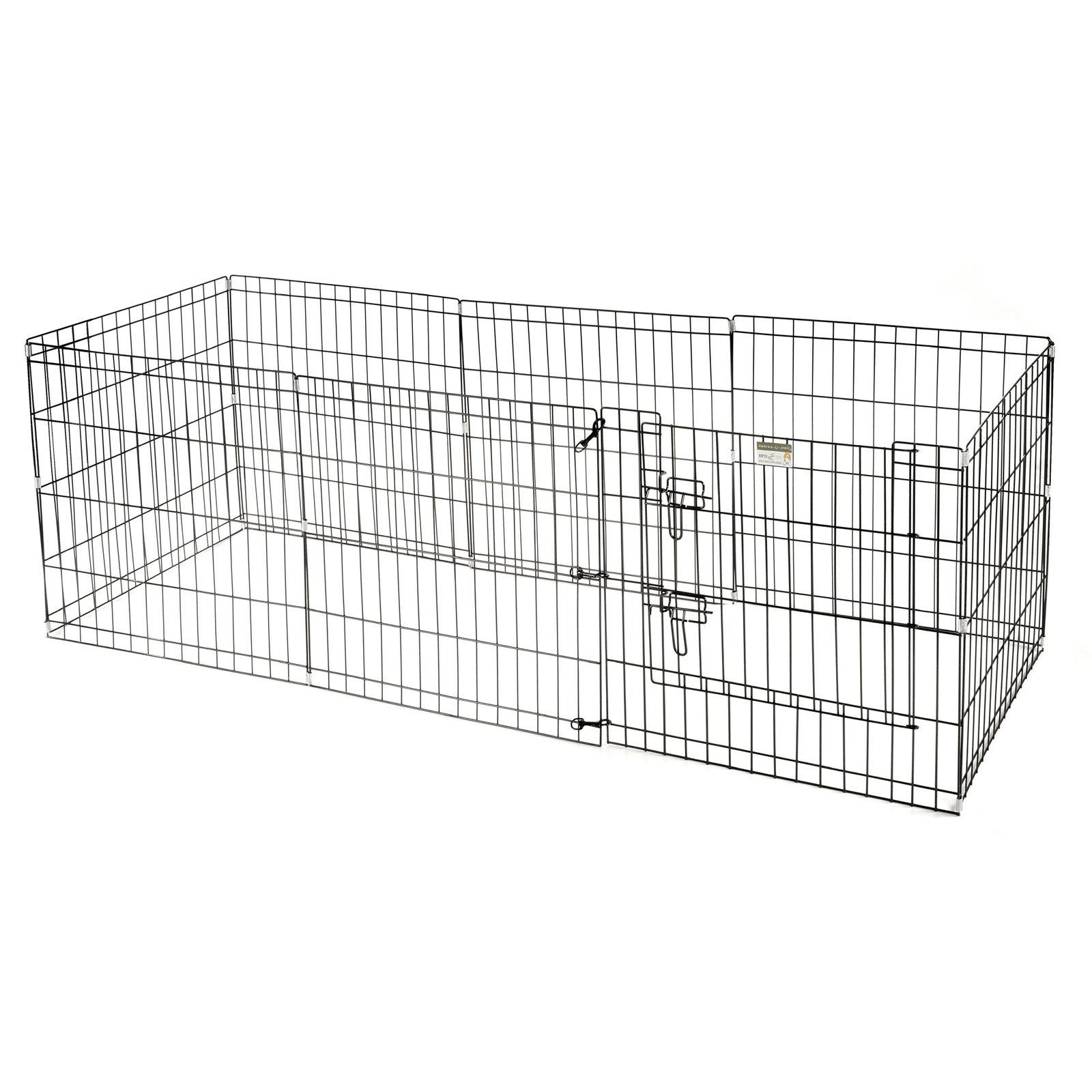 "Pet Trex 24"" Playpen for Small Eight Wide 24"" Panels"