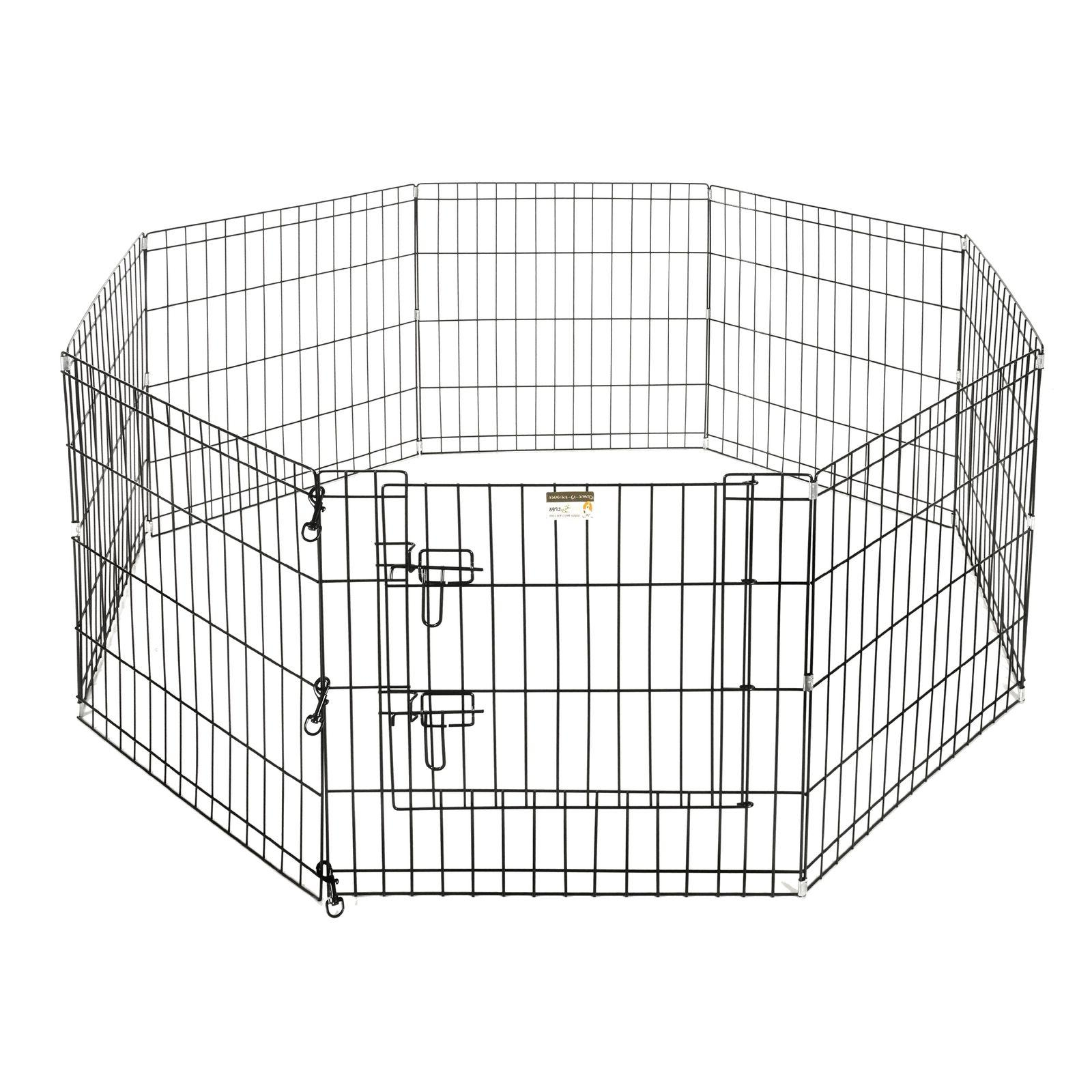 "Pet Trex 24"" Playpen for Pets Eight Wide 24"" High"