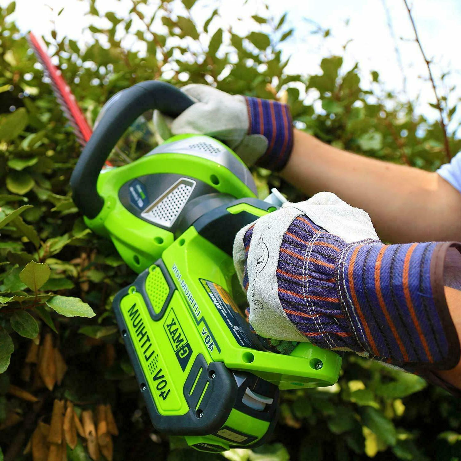 Greenworks 40V Cordless Hedge with Handle