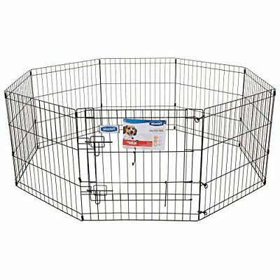 Petmate 30-Inch 8-Panel with Step Through Door TAXFREE