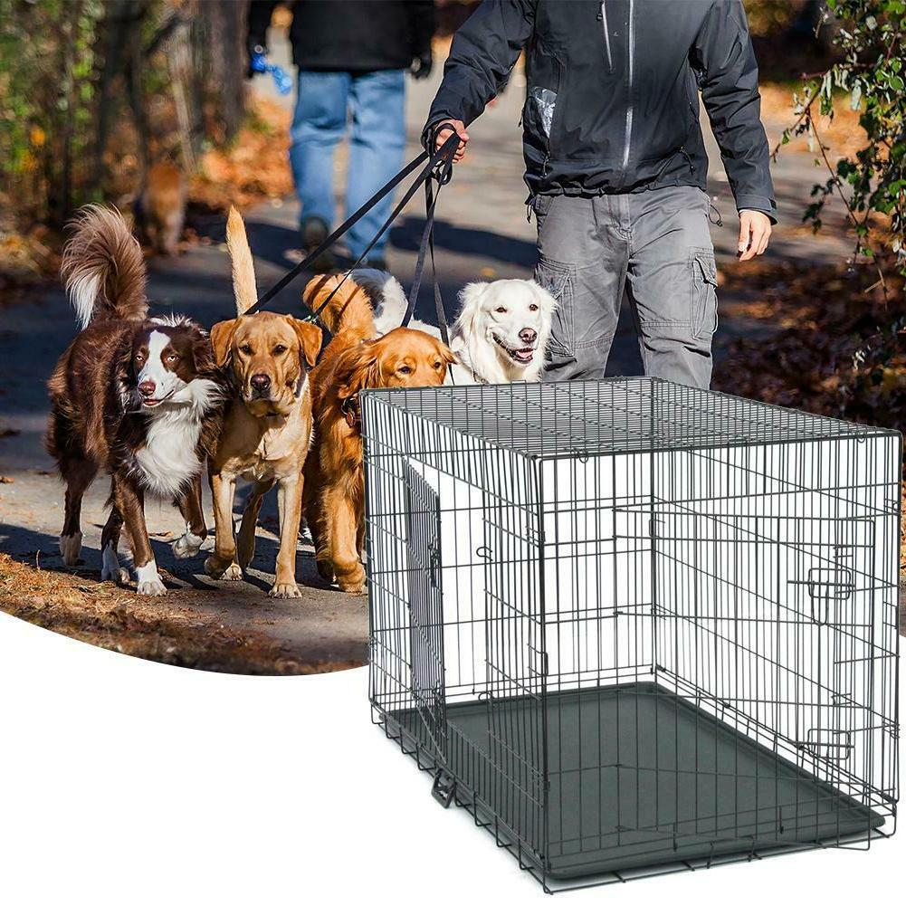 48/42/36/30/24/20 Cage Cat Crate w/ Tray