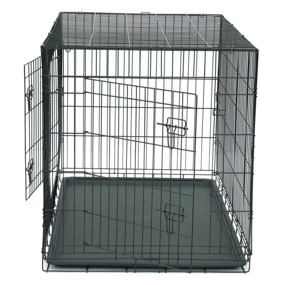 48/42/36/30/24/20 inch 2Door Cage Crate Cage Tray