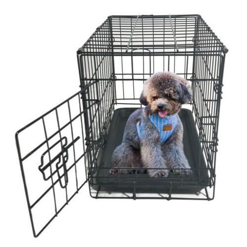 """48""""/42""""/36""""/30""""/24"""" Pet Kennel Cat Dog Crate Metal Cage"""