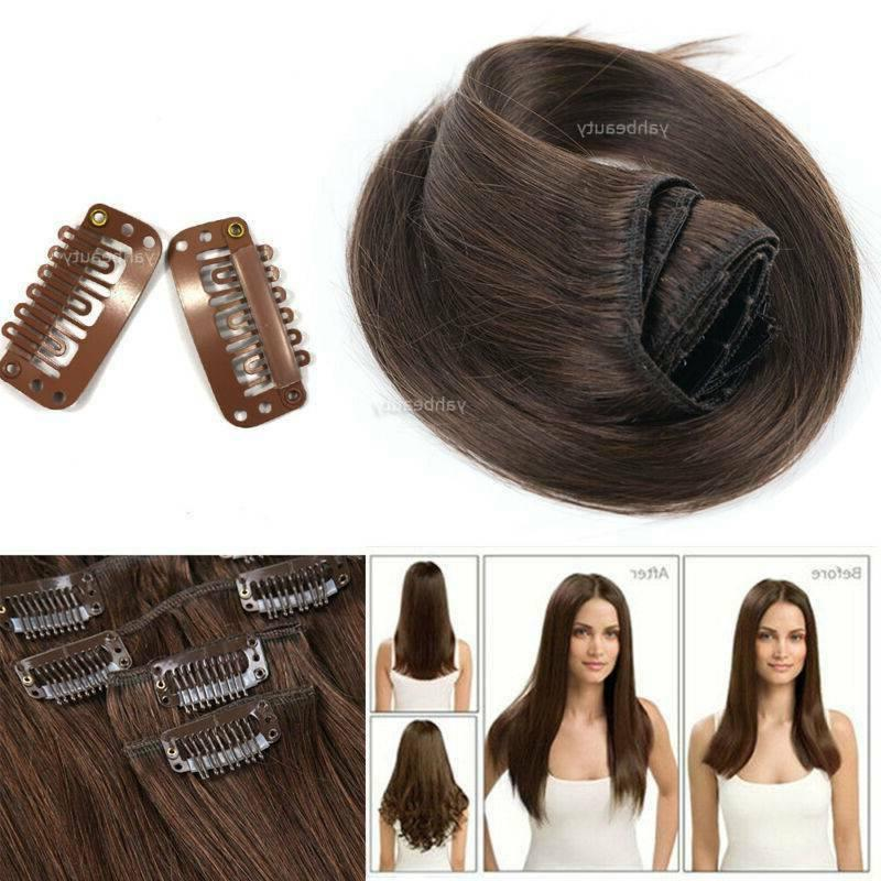 8-24Inch Human Hair Extensions Real Best