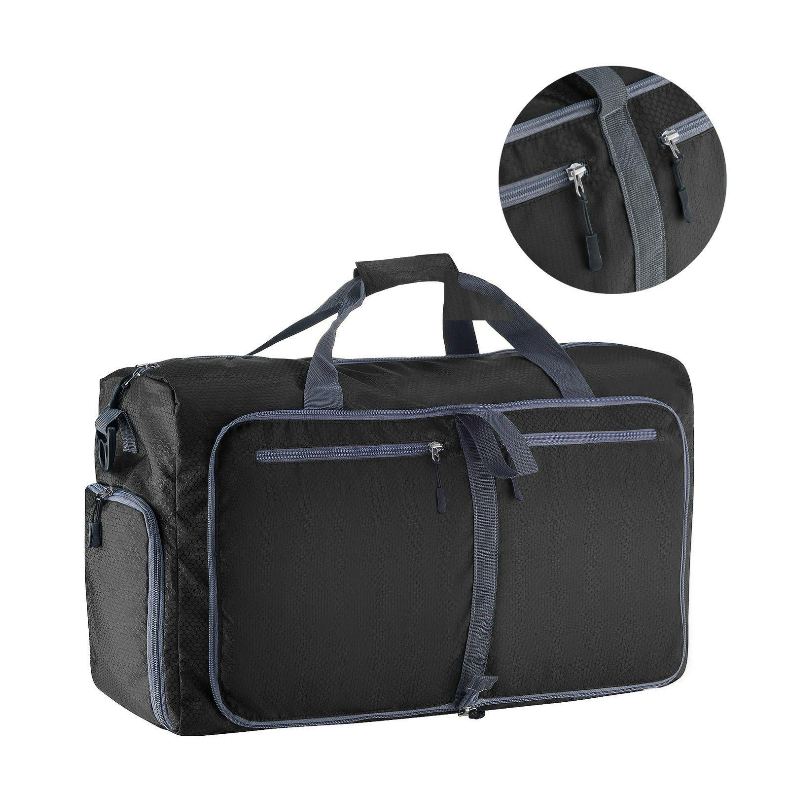 Villacera 24-Inch Traveling Duffel Bag | Folds Down Easy | B