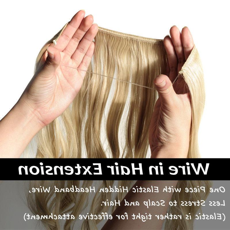 ANY COLOR In NO Hair Invisible 20-24 Inch