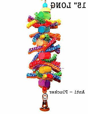 Bird toy parrot toys for cage toy The Plucker for cockatoo A