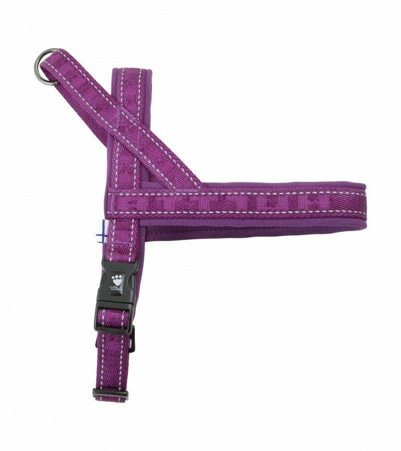 casual padded adjustable harness pet dog heather