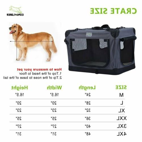 Collapsible Foldable Dog Indoor 24-Inch