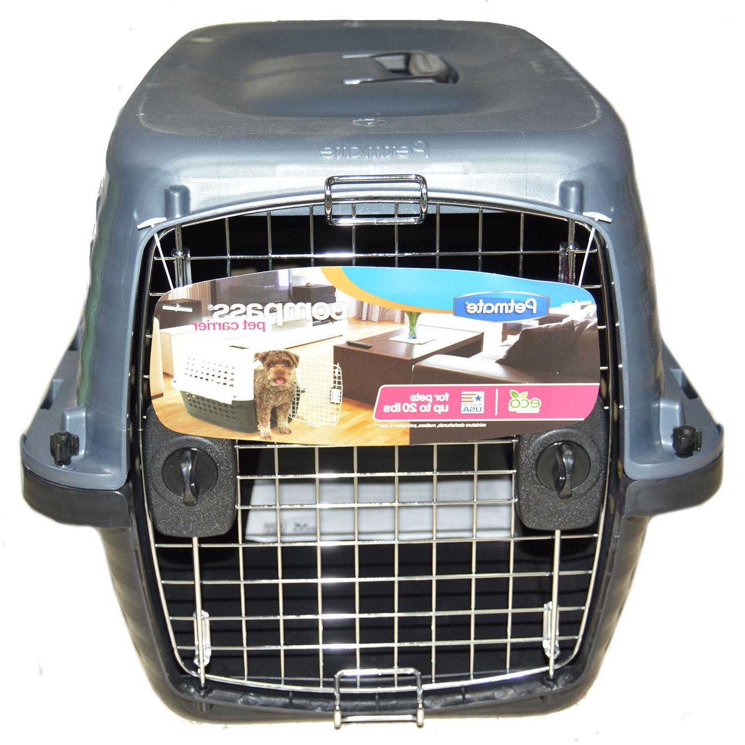 """Petmate® Compass Dog Carrier size: 19""""L x 12.7""""W x 11.5"""""""