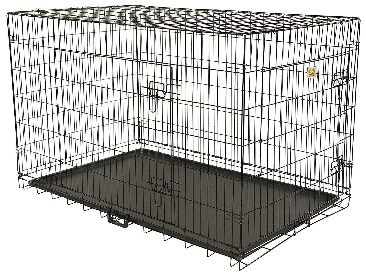 Crate Dog Door Metal Inch Divider Pet 42 36