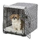 cvr24t gy dog crate cover with fabric