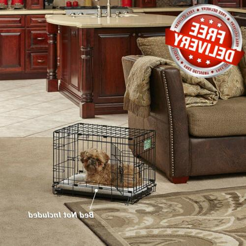MidWest Homes Dog iCrate Single Door & w/ Divider