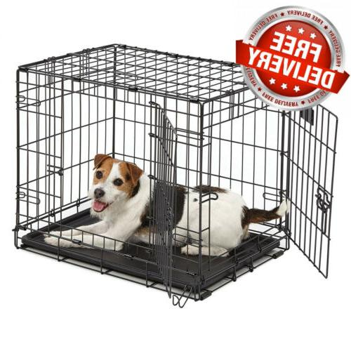 MidWest Homes Dog Crate Single & 24-Inch