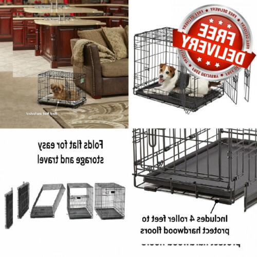 dog crate icrate single door and 24