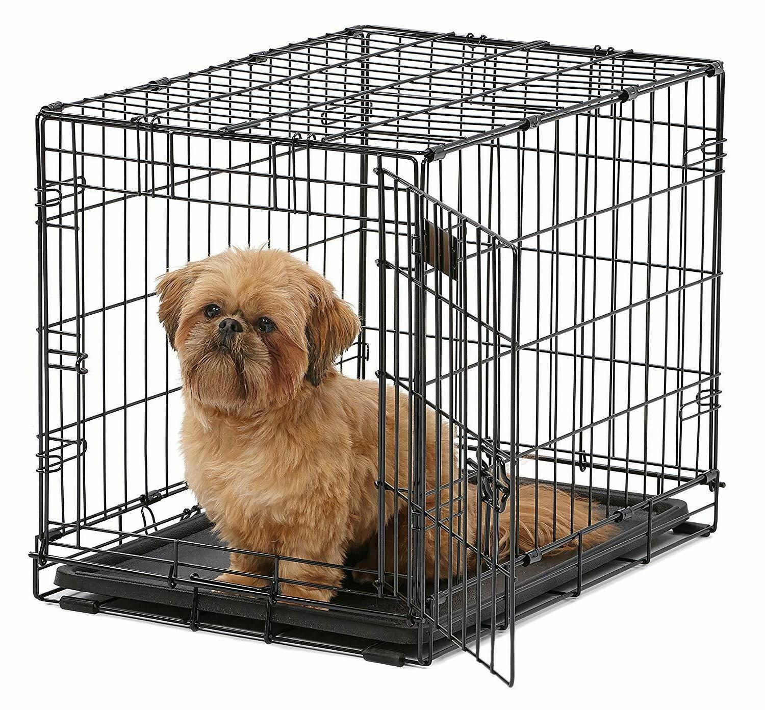 MidWest Homes for Pets Dog Crate, iCrate Single & Double Doo