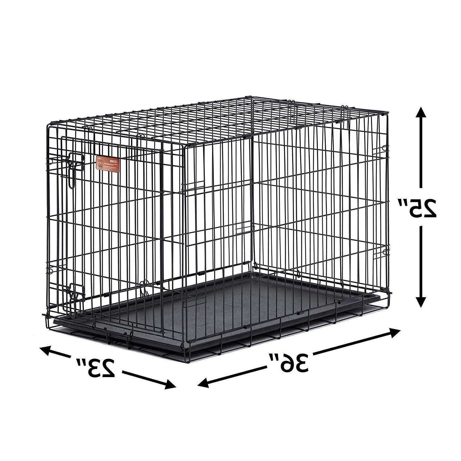 MidWest for Pets Dog Crate Single Door & Door