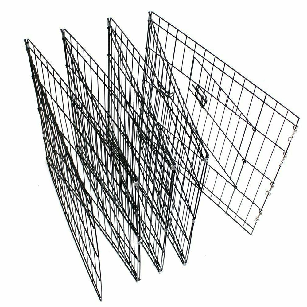 Dog Exercise Pen Pet Playpens for Dogs Outdoor Wire Foldable