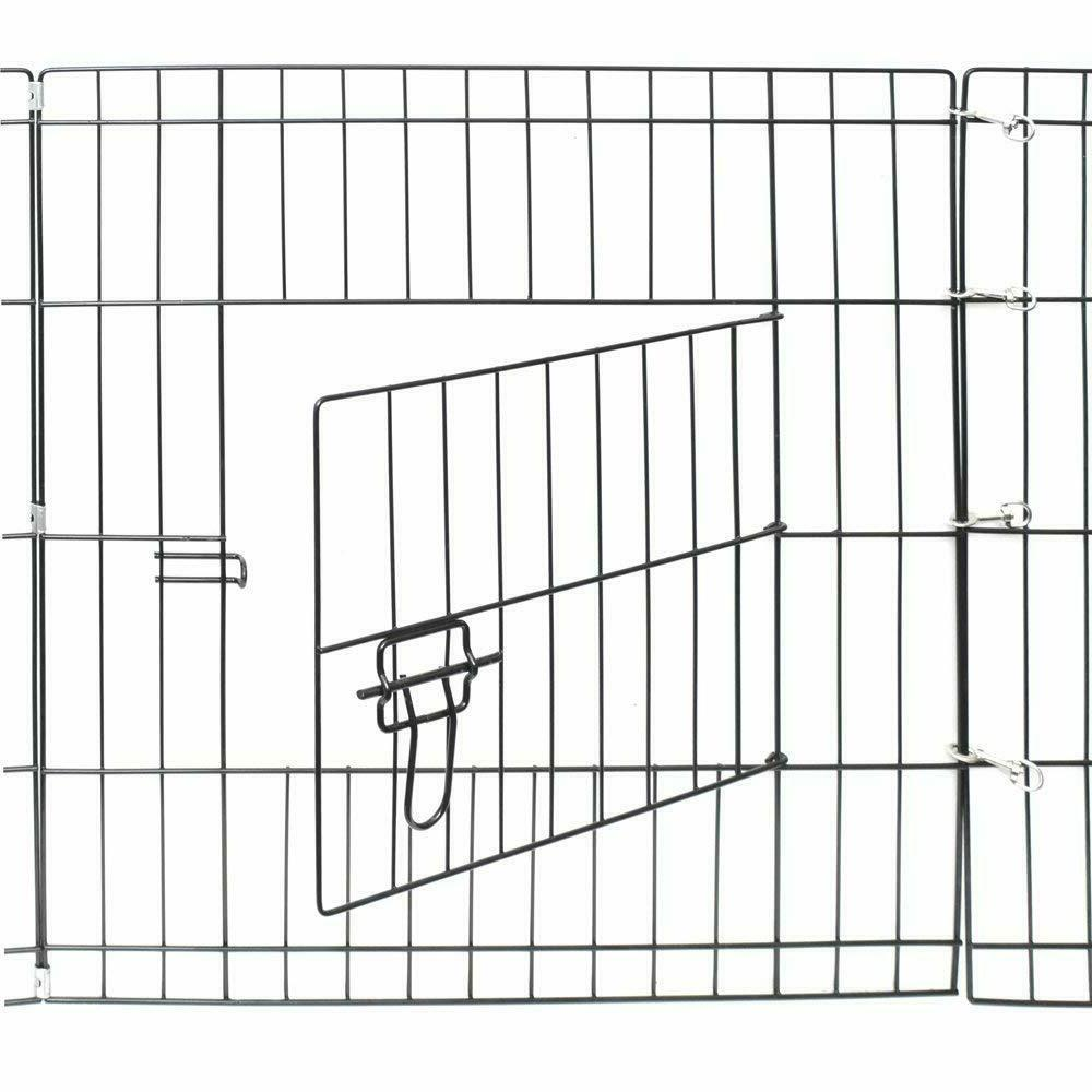 Dog Exercise Playpens Outdoor Metal Foldable