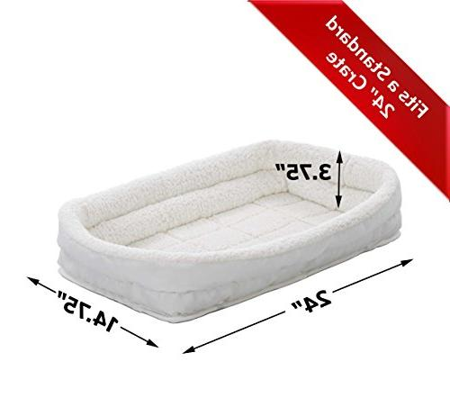Double Bolster   Dog ideal Small Breeds & fits Long Dog