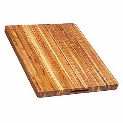 edge grain rectangular cutting board