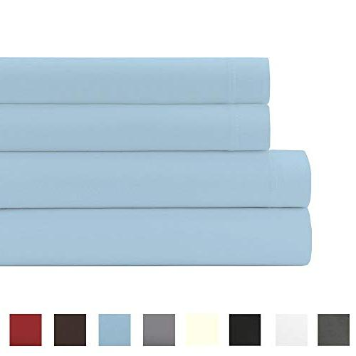 24 inches DEEP POCKET - 100% QUALITY Double Microfiber- Fade, Hypoallergenic - 4 Piece