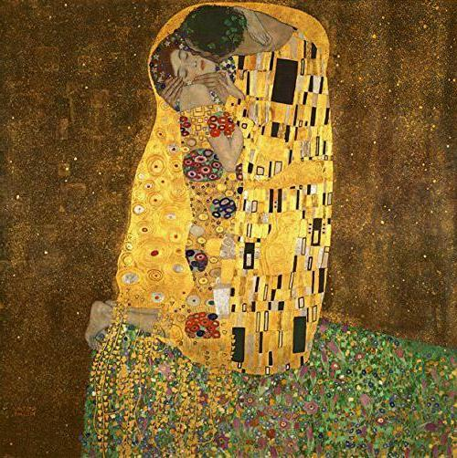 Wieco Art Extra  The Kiss By Gustav Klimt Famous Oil Paintin