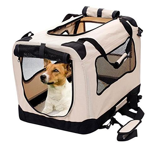 foldable dog crate
