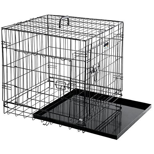 "Pet Trex Premium Quality 24"" Folding Pet Crate Cage Dogs or"