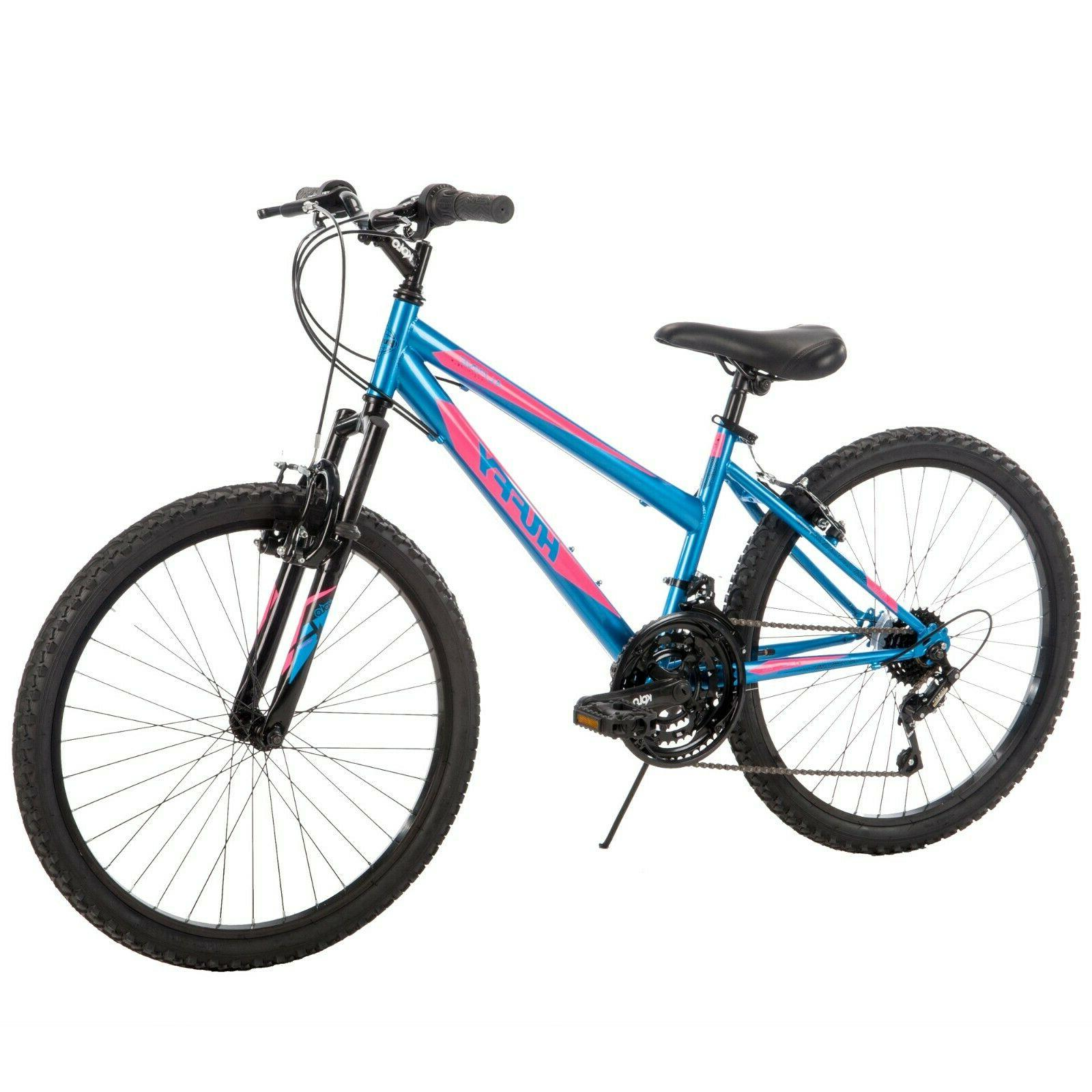 girls mountain bike 24 inch 18 speed
