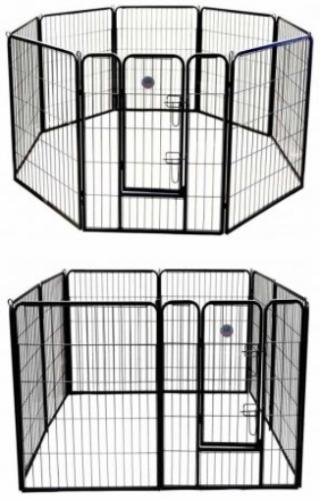 heavy duty pet play and exercise pen